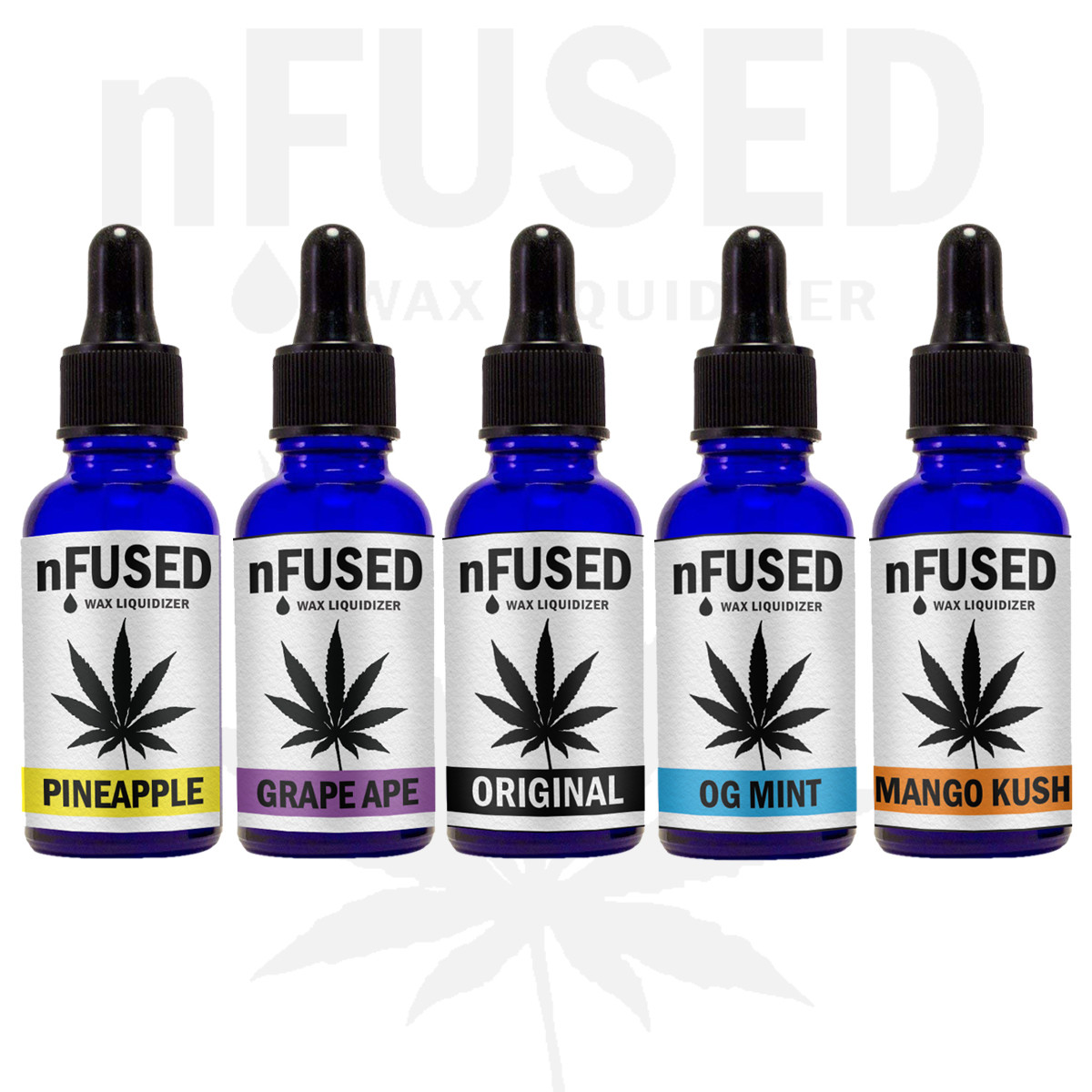 NFUSED WAX LIQUIDIZER VARIOUS FLAVOURS
